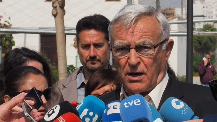 El alcalde de València, Joan Ribó