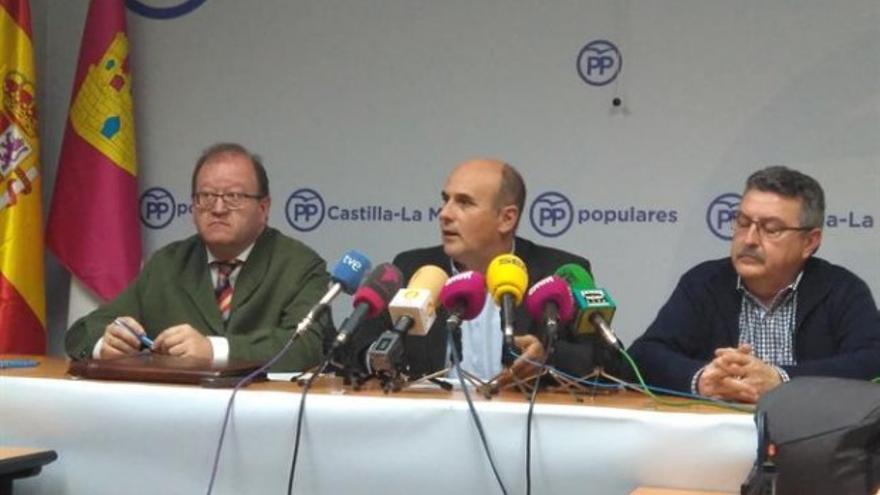 El candidato a la Presidencia del PP castellano-manchego, Tomás Medina / Europa Press