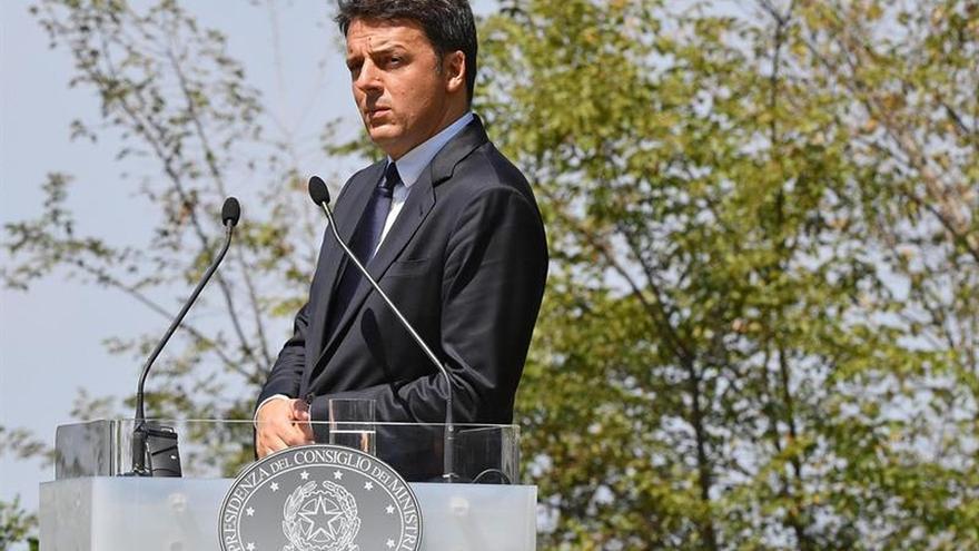 Renzi anuncia que los ministros de Industria del G7 se reunirán en Turín en 2017