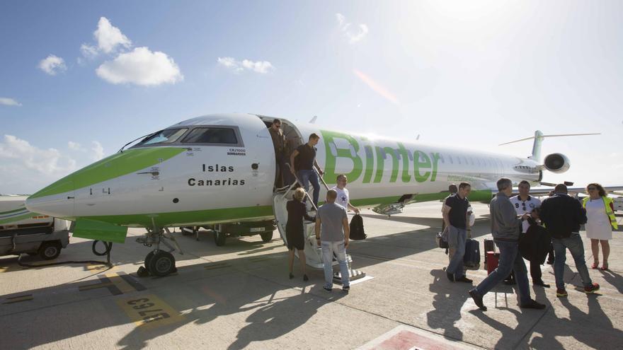 Los vuelos se realizarán con los nuevos aviones Bombardier CRJ 1000  incorporados a la flota de Binter en 2017.