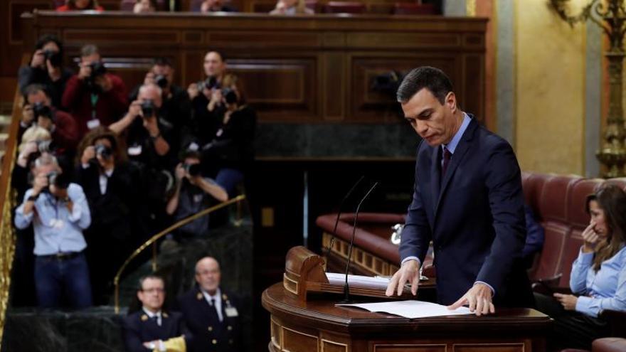 """Sánchez hará un discurso """"de Estado"""" en plena escalada de tensión en Cataluña"""