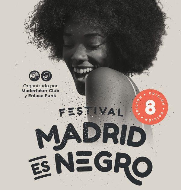Cartel 8º festival Madrid es negro