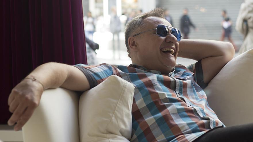 Chimo Bayo durante la entrevista con eldiario.es