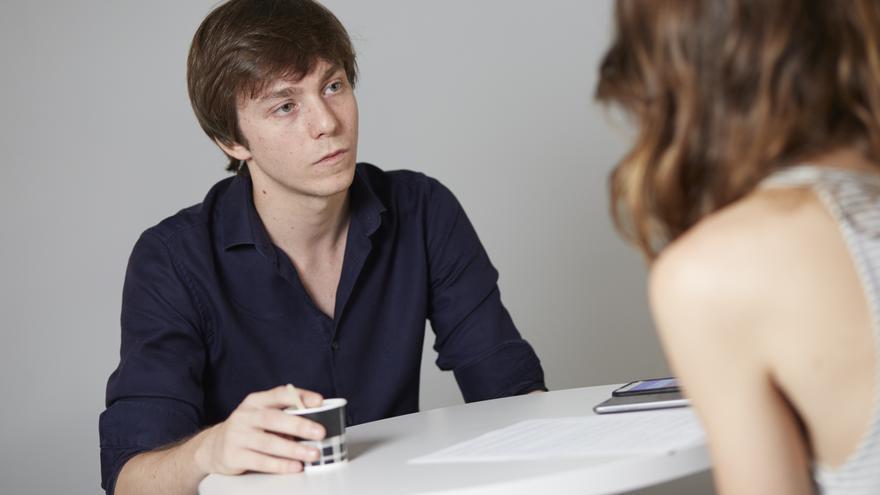 Eduardo Fernández Rubiño, durante la entrevista. / Patricia Garcinuño