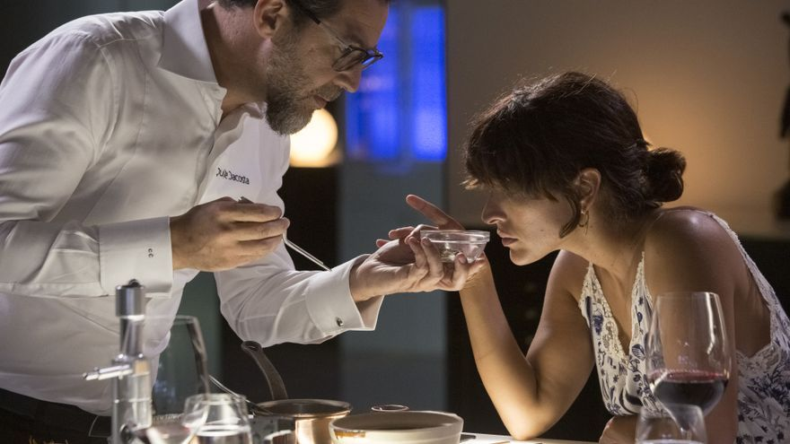 Quique Dacosta e Inma Cuesta en 'Una vida, una cena'