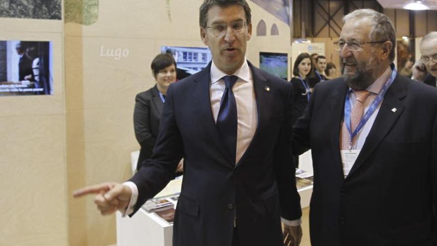 Núñez Feijóo apuesta por la internacionalización del turismo en Galicia