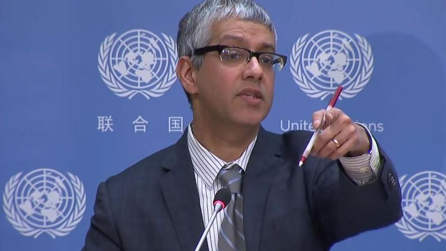 El pakistaní Farham Haq, portavoz del Secretario General de la ONU.
