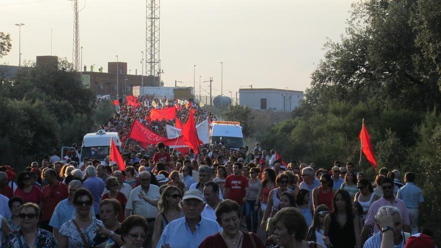 'Que pare el tren' convoca una protesta de más de 12 horas para el 30 de julio en la Estación de Villanueva
