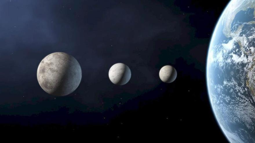 Detectan agua helada en las regiones oscuras del planeta enano Ceres