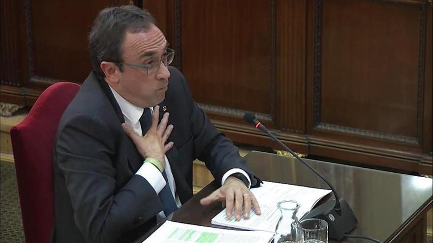 Diez frases del exconseller Josep Rull en el Supremo