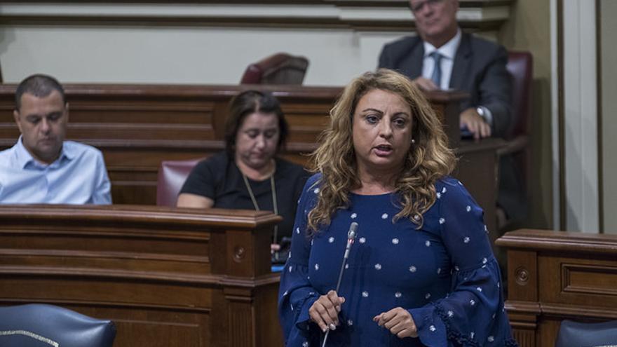 Cristina Valido, consejera de Políticas Sociales, Empleo y Vivienda