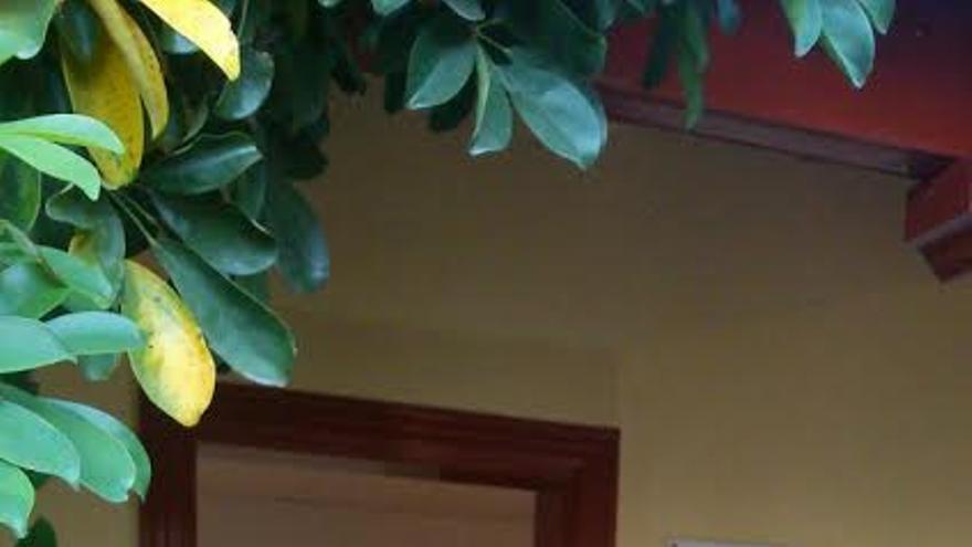 En la imagen, sede la Agencia de Extensión Agraria en Garafía.