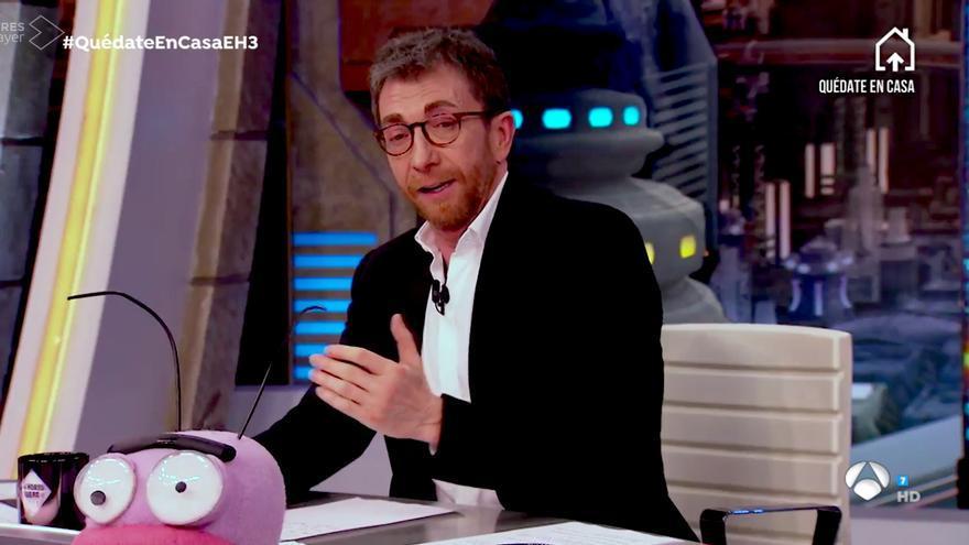"""Pablo Motos habla de El Desafío, el programa que han """"dejado en stand by"""" y que iba a presentar Roberto Leal"""