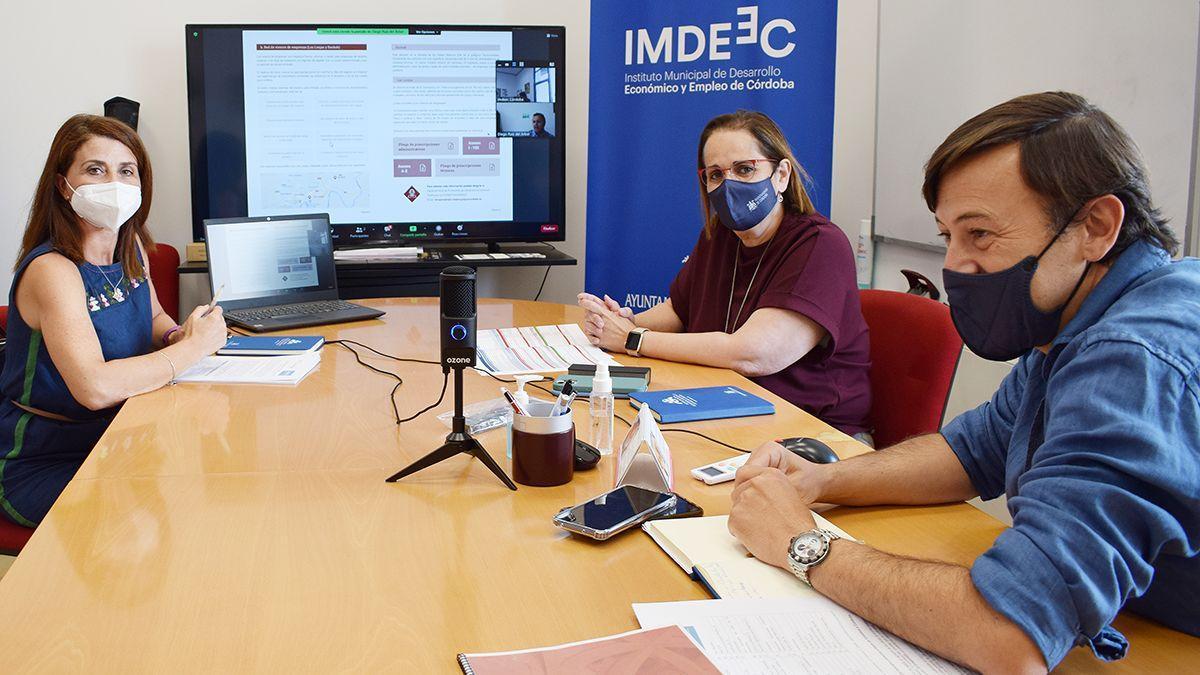 Reunión entre el Imdeec y la asociación Unreported.