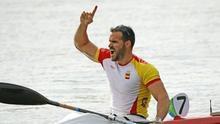 Saúl Craviotto, doble medallista. (EFE)