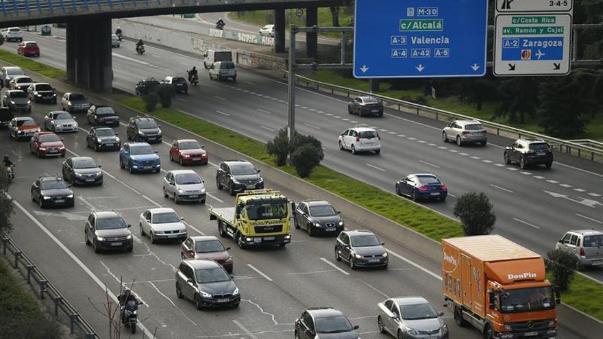 Mañana, sábado, se mantendrá la reducción de velocidad en M-30 y los accesos