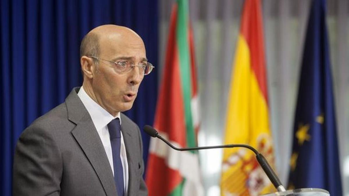 Carlos Urquijo, en su etapa como delegado del Gobierno en Euskadi