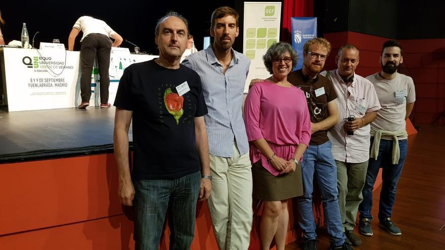 Foto de archivo de miembros de Equo Castilla-La Mancha