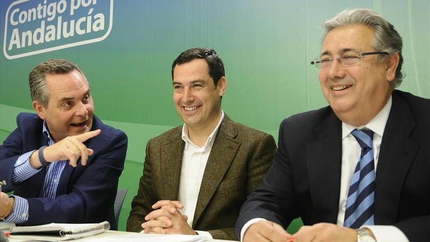 """Moreno asegura que el PP-A no entrará en el """"cambalache de puestos"""" de Díaz"""