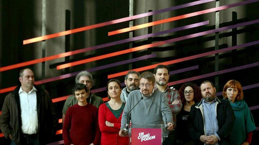 Domènech emplaza al PSOE a aceptar un referendo y cambiar la Constitución