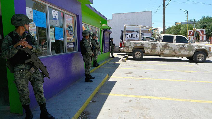 Según el Centro de DDHH Paso del Norte de Ciudad Juárez los casos de violencia o abuso policial son habituales / Fotografía: AI