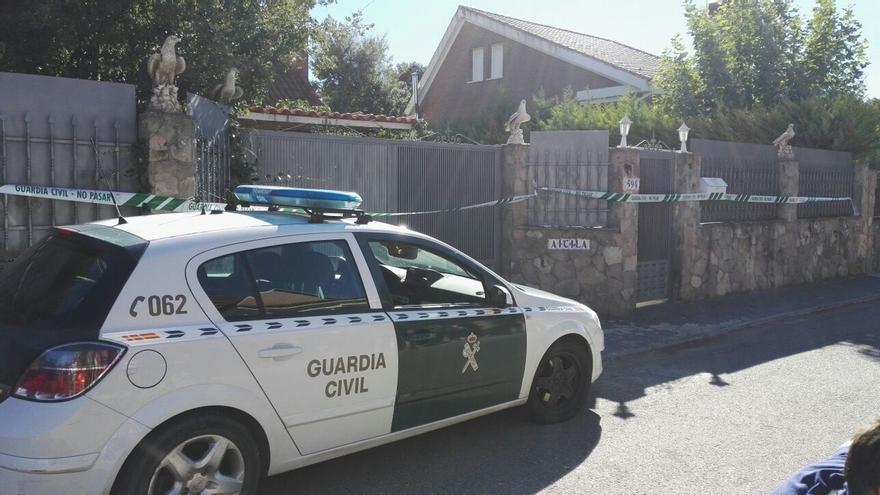 La Guardia Civil trabaja con la hipótesis de que sicarios se desplazaron a Pioz (Guadalajara) para asesinar a la familia