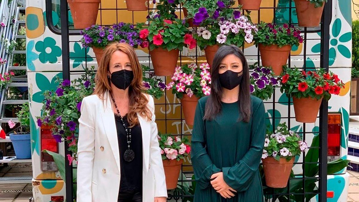 Marián Aguilar y Cintia Bustos.