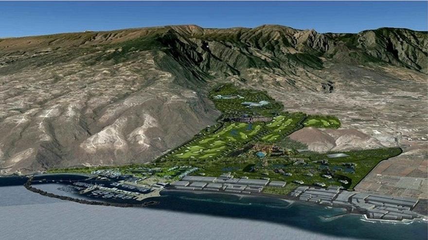 Proyecto del arquitecto Juan Carlos Piñeiro para la regeneración de los barrancos de Güímar