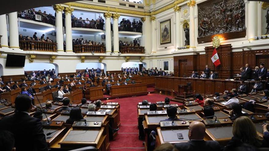 El nuevo Congreso de Perú juró ante Kenji Fujimori para el periodo 2016-2021