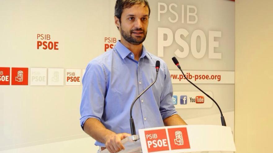 Pablo Martín Peré, portavoz del PSOE en la Comisión de Reglamento