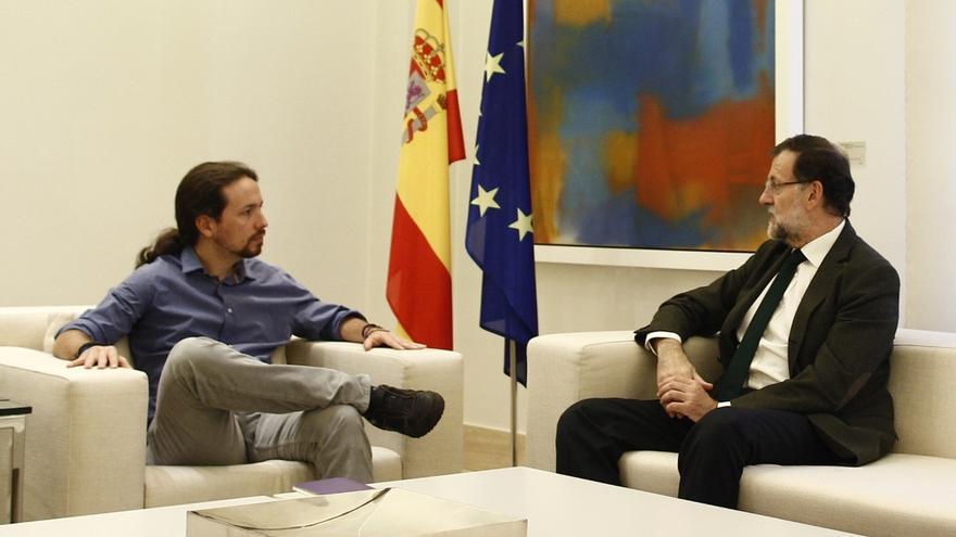 Pablo Iglesias anuncia que Rajoy le recibirá el lunes en La Moncloa