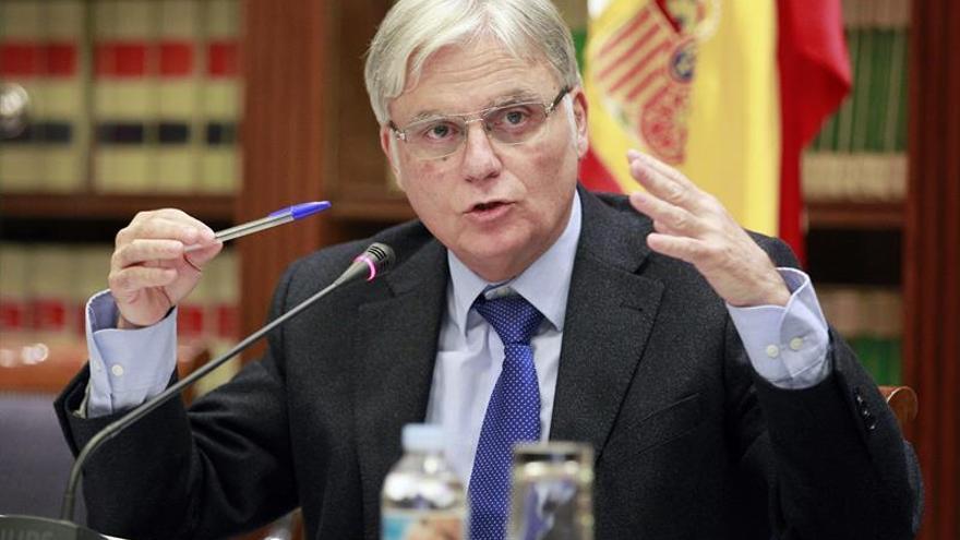 El consejero de Educación, Universidades y Sostenibilidad, José Miguel Pérez. EFE/Cristóbal García