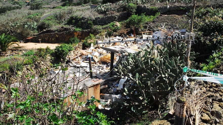 Del estado de la vivienda tras la explosión #1
