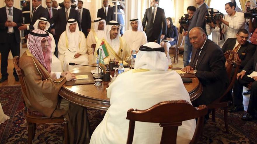 El Cuarteto árabe acusa a Catar de hacer fracasar los intentos de solucionar la crisis