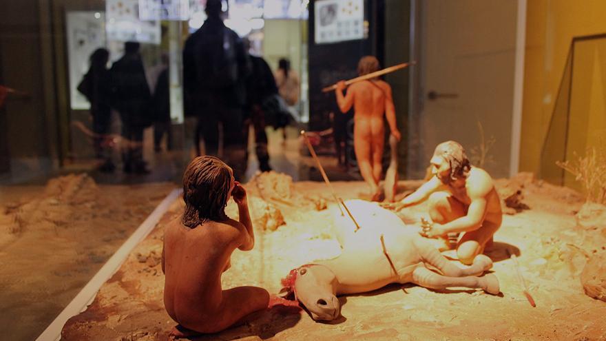 Primeros europeos pre-neandertales.