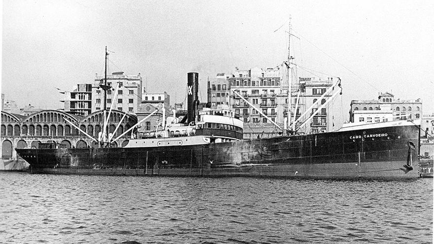 'Cabo Carvoeiro', la cárcel flotante de la rebelión militar.