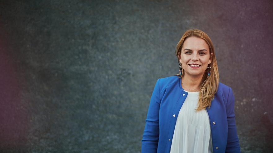Noemí Santana, secretaria general de Podemos en Canarias.