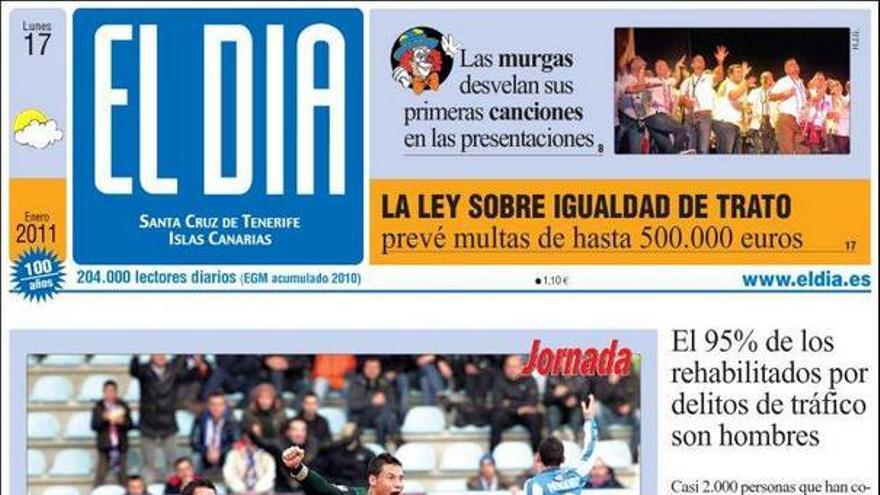De las portadas del día (17/01/11) #4