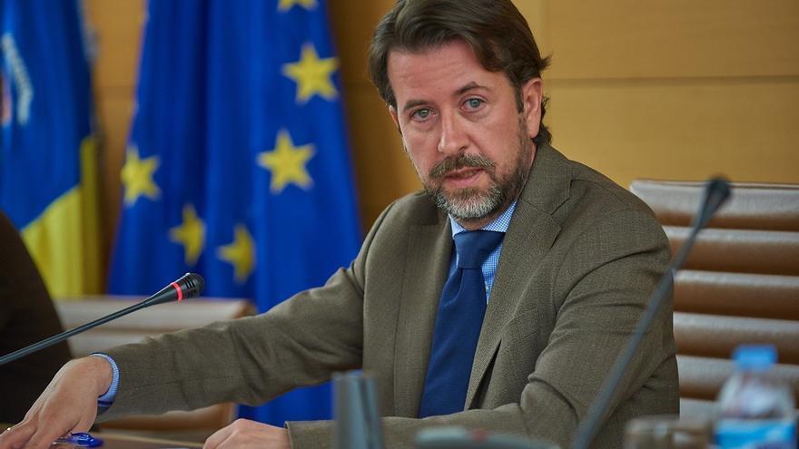 Carlos Alonso, presidente del Cabildo de Tenerife, de CC y antes en el PP