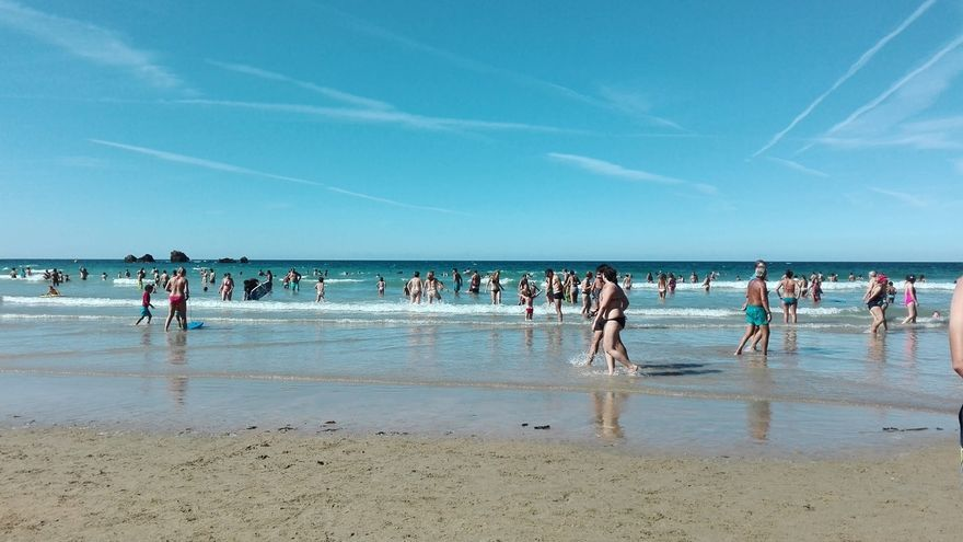 Junio fue un mes cálido en Cantabria, más en las comarcas costeras
