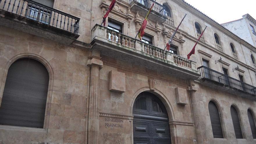 Fachada de la Diputación Provincial de Salamanca /J.S.