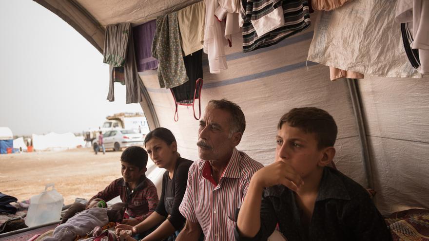 """Huir de Irak a Siria: """"Aquí no hay nadie seguro"""""""