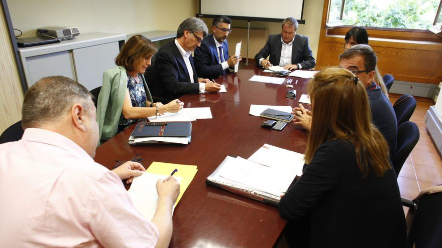 "Reunión Grupo de Trabajo ""Estudio Doing Business Aragón""."