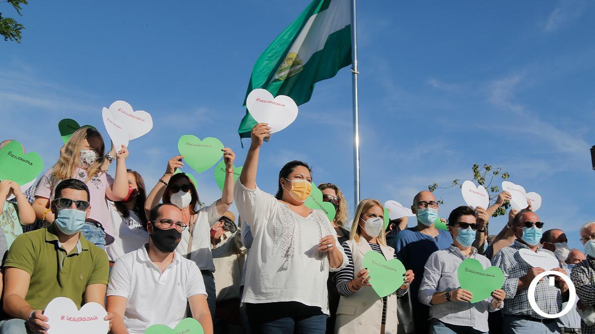 Presentación de la plataforma de militantes en apoyo a la candidatura de Susana Díaz