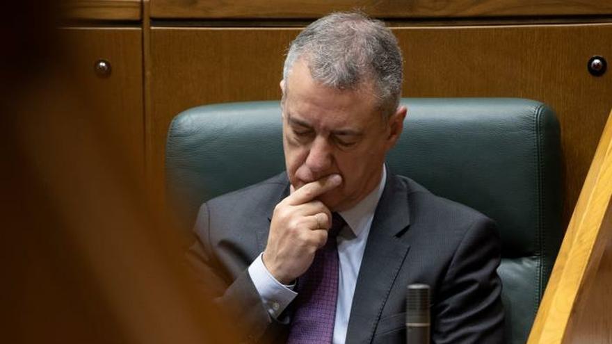 Urkullu cree muy grave la moción del Senado que el PP vasco comparte al 100 %
