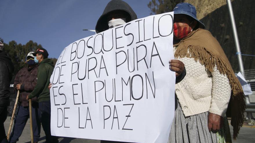 La apertura de un cementerio COVID-19 genera resistencia en La Paz
