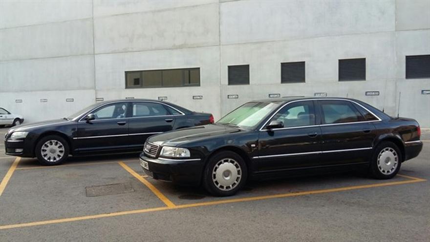 Los coches oficiales de Rita Barberá
