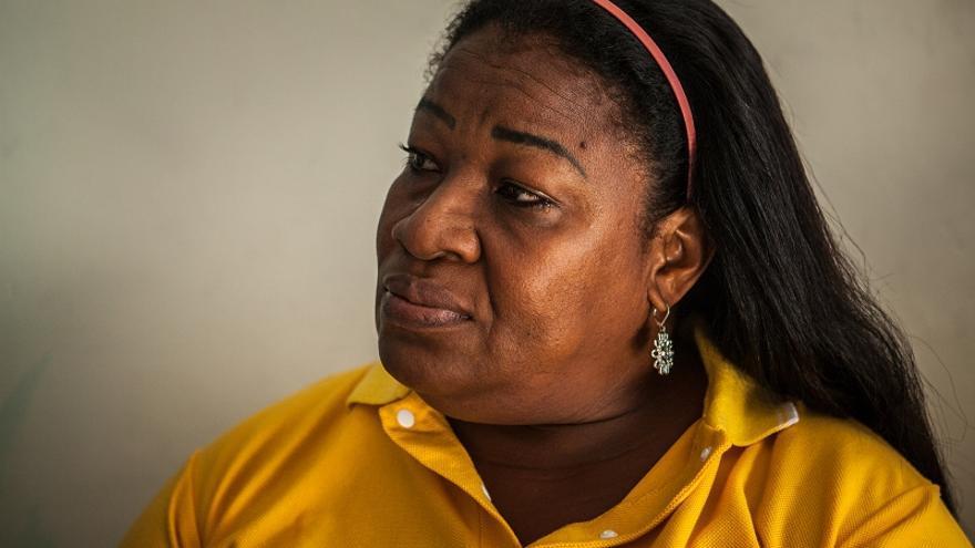 Luz Dary Santiesteban fue violada en 2004 pro cuatro paramilitares. Guardó silencio durante seis años y denunció gracias a la Red Mariposas / Fotografía: ACNUR