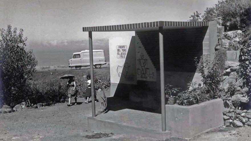 Imagen de la Fuente del Toro.
