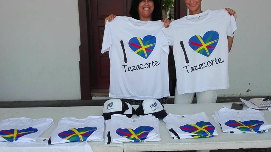 Ayuntamiento de Tazacorte posiciona su marca turística 'Tazacorte Enamora' en el marco del Love Music Festival.